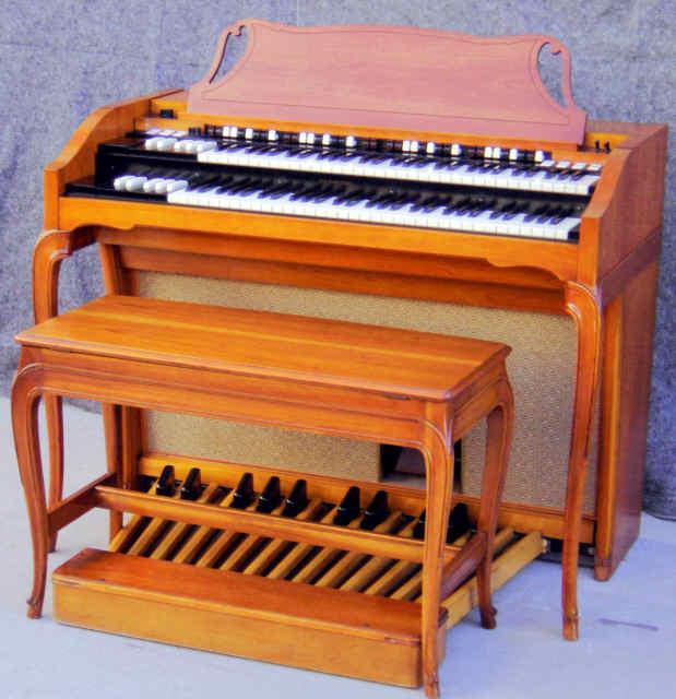 Hammond A-102 Organ as it